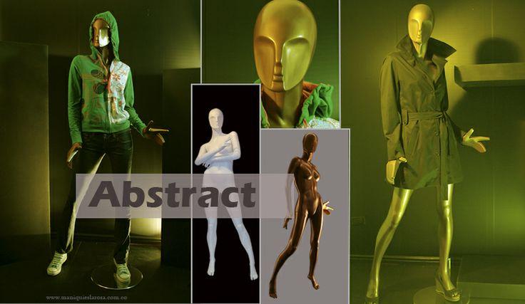 Colección maniquíes abstractos de Mujer, Abstract. http://www.maniquieslarosa.com.co/mujeres_abstractos_abstracto.html