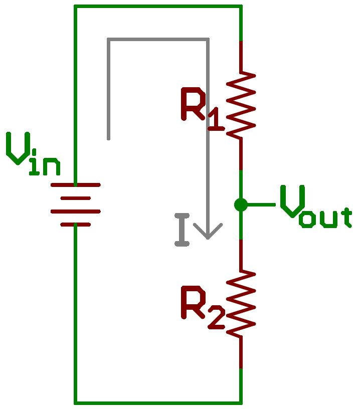 Voltage divider with just a single current loop