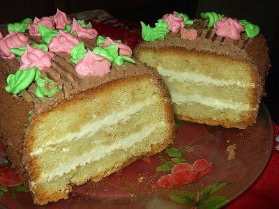 Торт Сказка по госту рецепт   с масляным кремом!