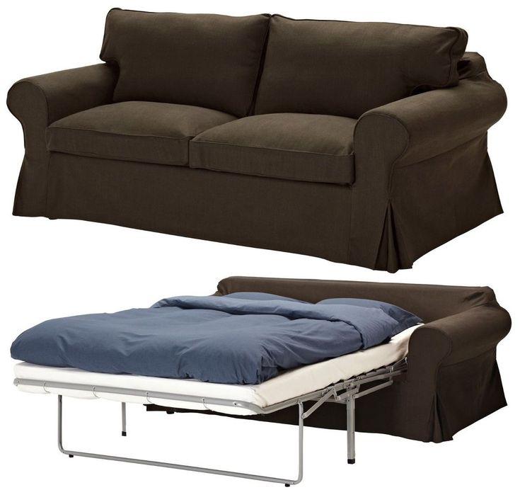 Lazy Boy Sofa New Ikea Ektorp Sofabed Cover Svanby Brown Seat Sofa bed Sleeper Slipcover NIP