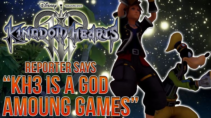 """Kingdom Hearts 3 News - """"KH3 is a God Among Games"""" D23 Teases!"""