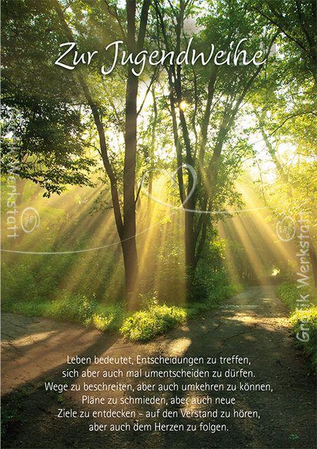 Art.Nr. 25758: Doppelkarten - Zur Jugendweihe