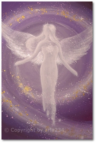 "Limited angel art photo ""universal life energy"" , modern angel painting, artwork, perfect also for picture frame. €10.00, via Etsy.                                                                                                                                                                                 More"