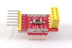 #ESP8266 FTDI and breadboard adapter with 3.3V reg.