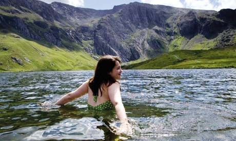 Wild Swimming - A brilliant way to discover the country you live in by seeking out beautiful places like this for a bit of a wild swim. Sometimes may be advisable to take a wet suit with you in case its a bit chilly.