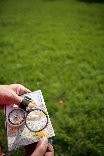 Orienteering - find someone in your area that can help put together an orienteering event.