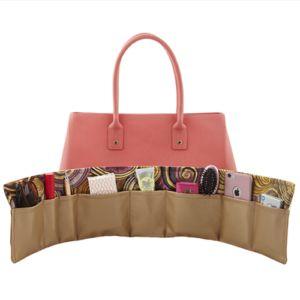 BrightMe Spiral Shell purse organizer