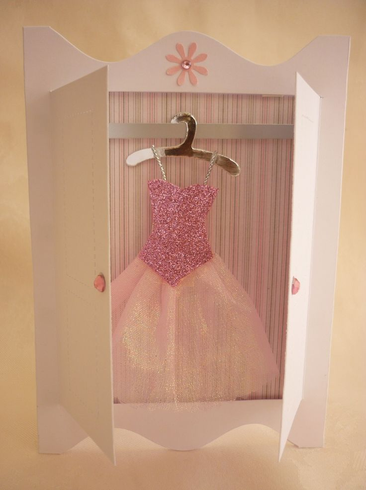 mini ballerina paper dresses | Making Mini Dresses and clothes for cardmaking and papercraft projects ...
