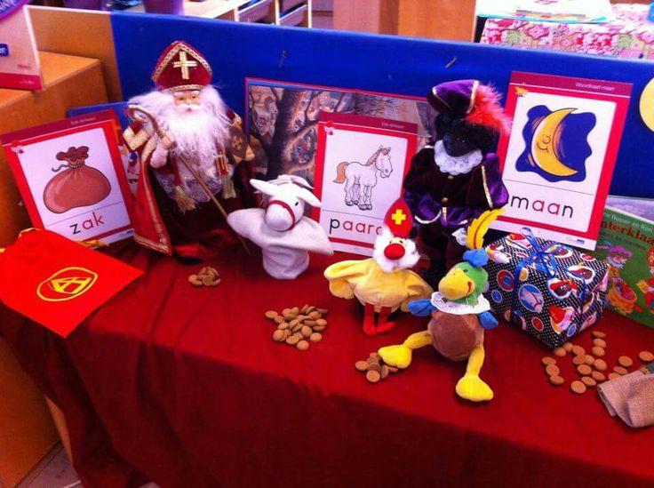 Thematafel Sinterklaas
