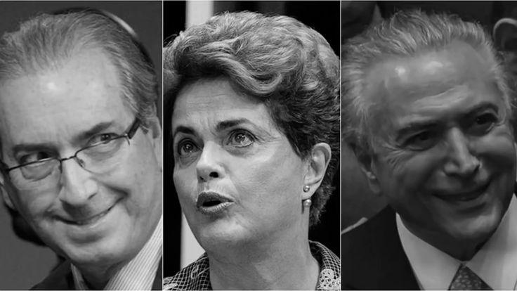 """Até a Globo: """"Delações mostram que Dilma Rousseff caiu porque se opôs a ...Tem medo  de inocentar Dilma. Ô POVO. Merece mesmo um TEMER corrupto."""