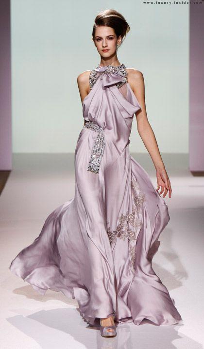 #couture #gown #glamour #stunning #elegant #beautiful #blush #runway