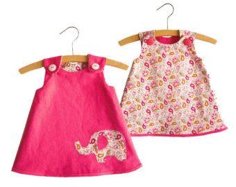 baby girl dress pattern free - Google Search
