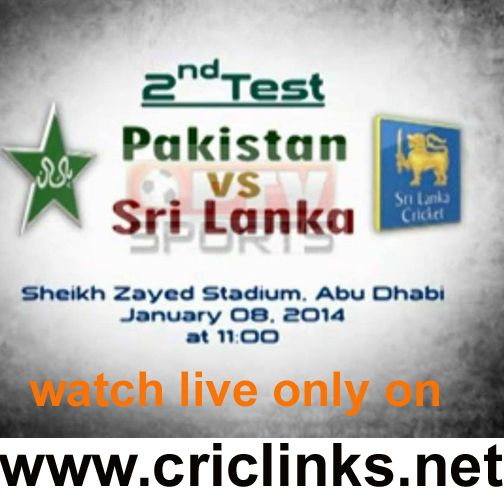 2nd Test between pakistan vs sri lanka will be played on Wednesday.Match will be start 11.00 AM PST.After Darw 1st Test both teams keen to start 2nd test on high.watch live action only on http://www.criclinks.net/