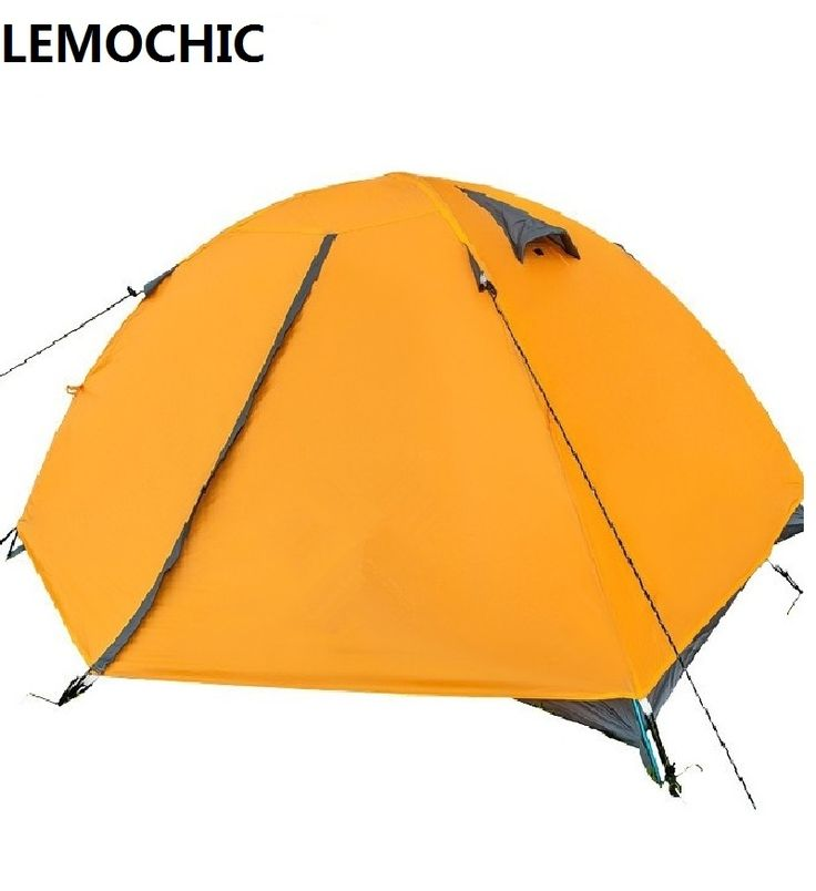 219.80$  Buy here - http://alicif.worldwells.pw/go.php?t=32625531814 - High quality Double-layers outdoor camping tents waterproof beach  barraca hunting fishing Single gazebo ultralight tent