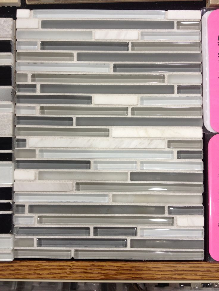 My Glass Tile For My Fireplace Surround Begonia Court Remodel Pin
