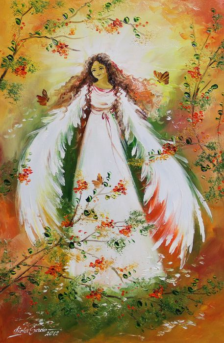 Angels Beauty Colored Faces: 42 Best Images About Angels By Viola Sado On Pinterest
