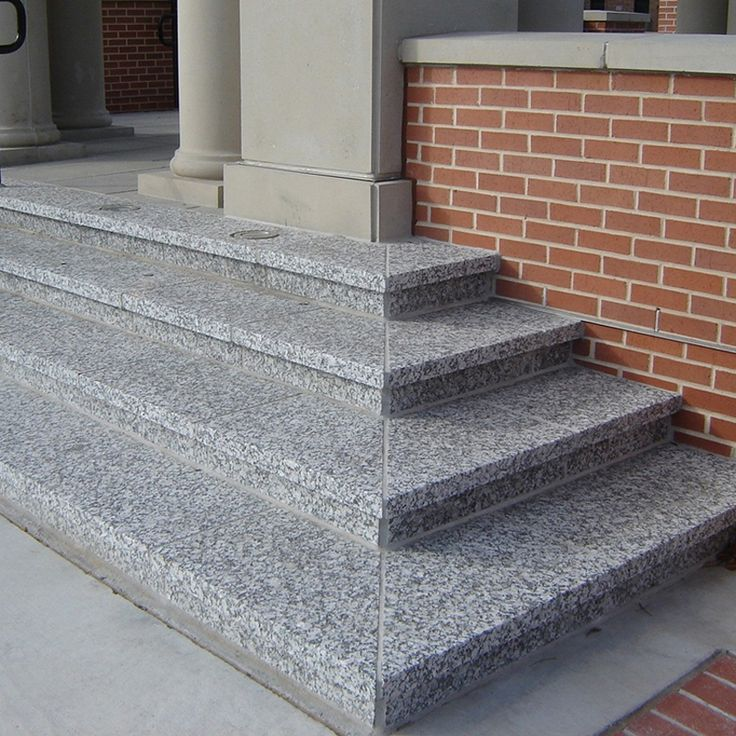 Outdoor Granite Stair Steps In 2019 Granite Stairs Tile