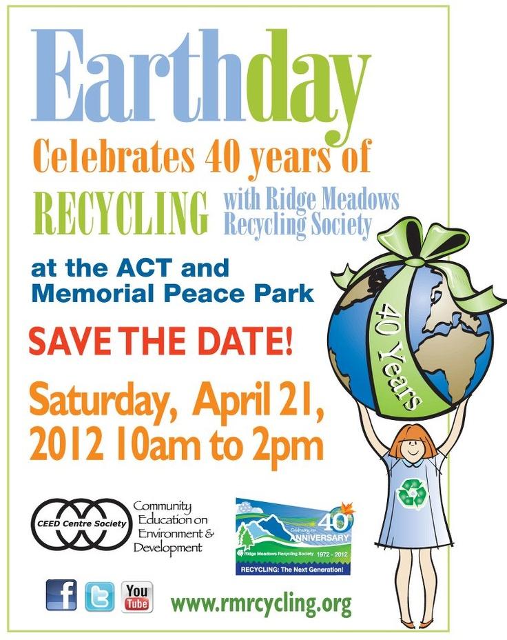 Maple Ridge Earth Day: April 21, 2012