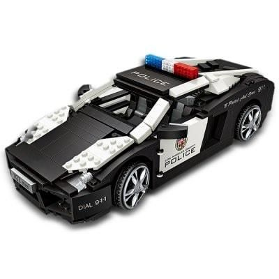 LOZ Gallardo Supercar Police Car Mini Block Toys | Police cars