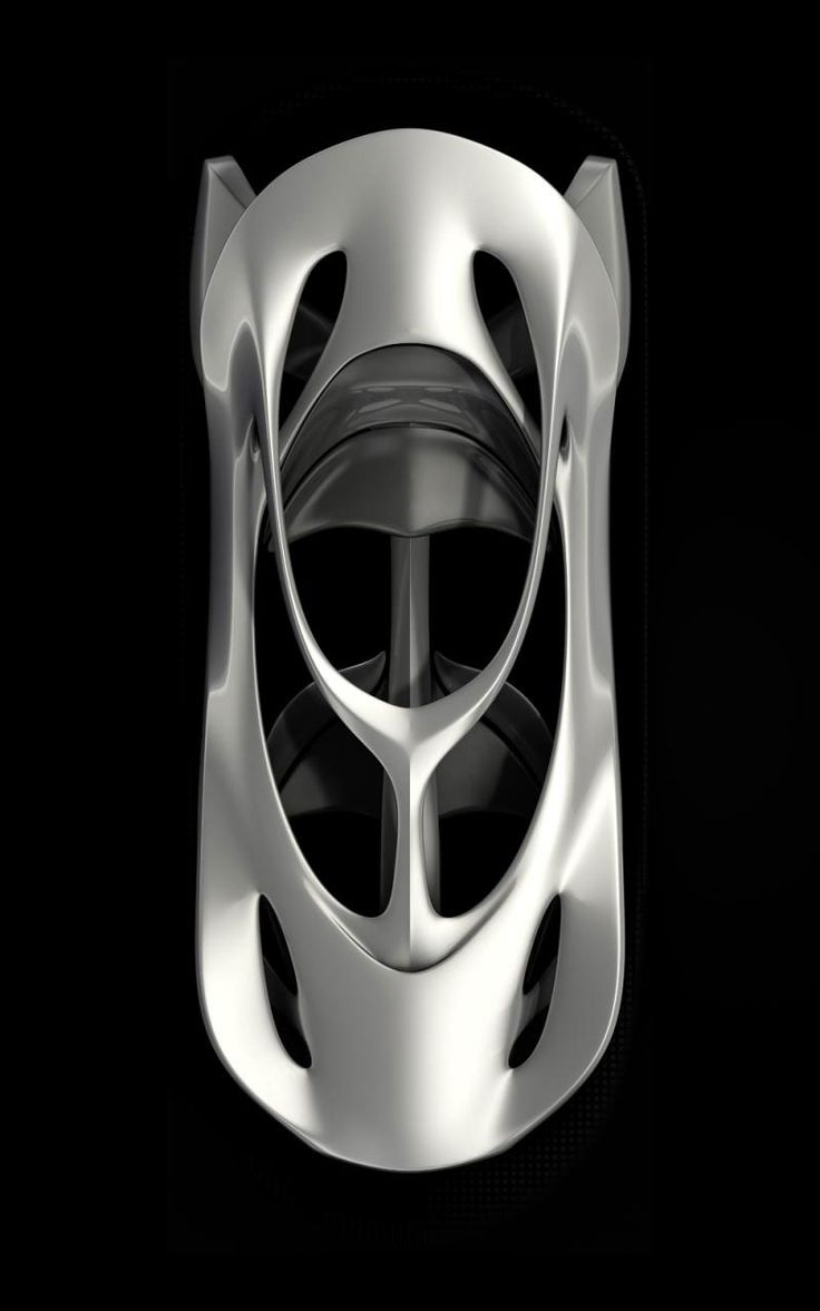 ♂ Concept car Mercedes Aesthetics 125 Sculpture from