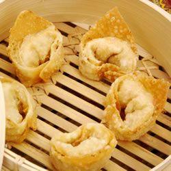 Crabby Cream Cheese Wontons Recipe - i may not watch football, but I like Football Party food!