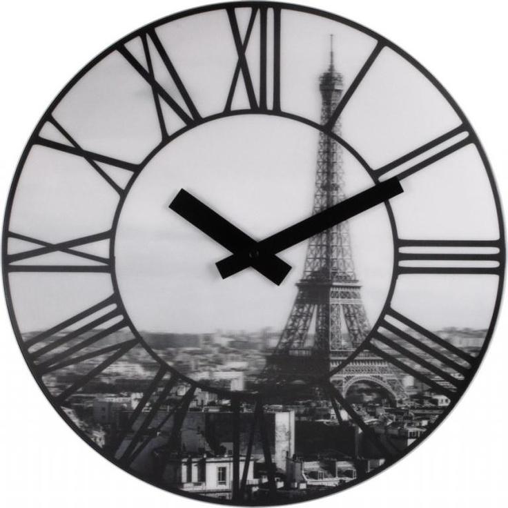 Zegar ścienny La Ville  - DECORTIS.COM