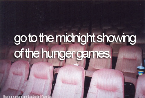 I will be there at the midnight showing.
