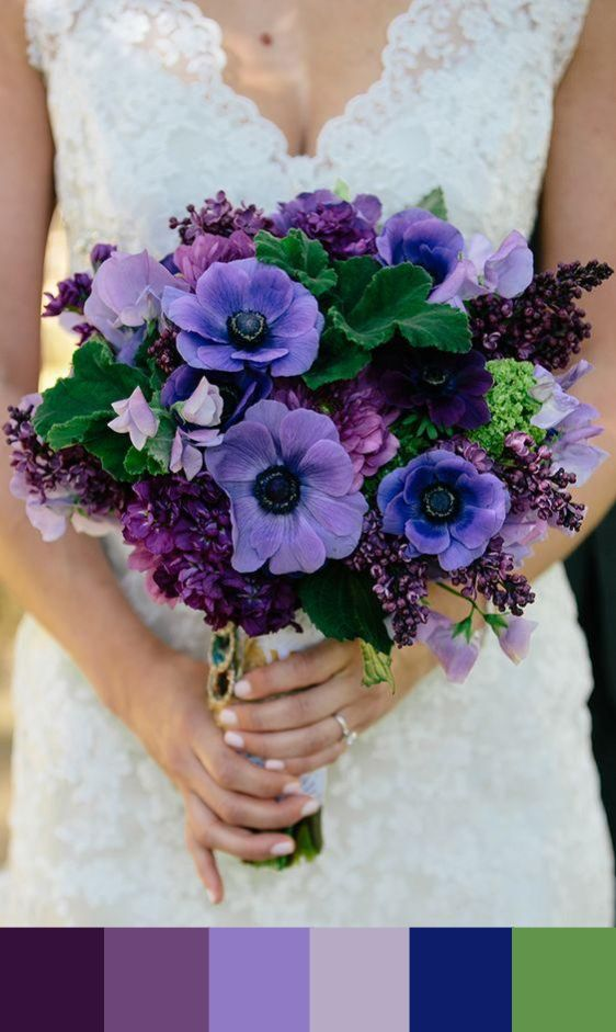 195 best Purple and Blue Wedding Colors images on Pinterest | Blue ...