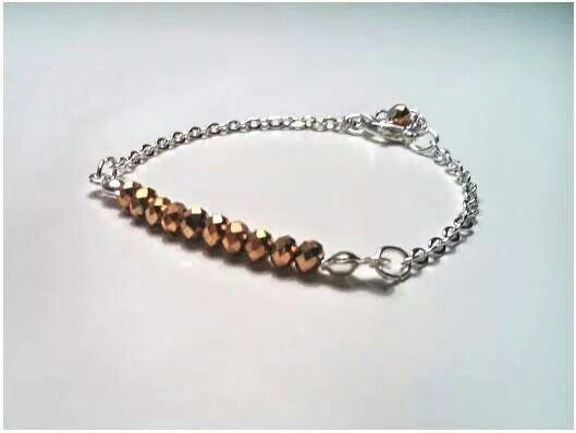 Gold Spring Desire Bracelet by Valquiria Handmade Jewellery