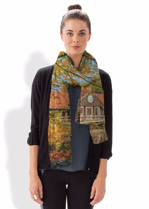 Modal Scarf - Night Flowers by VIDA VIDA