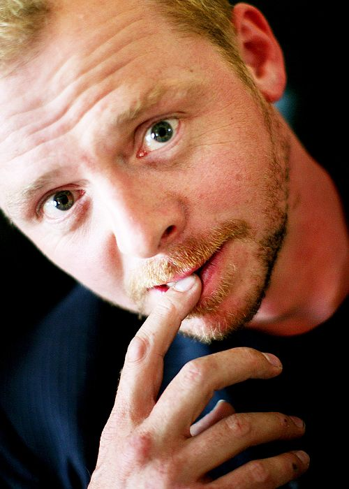 Simon Pegg 'cause one pin just doesn't do him justice. Funny is dead sexy!