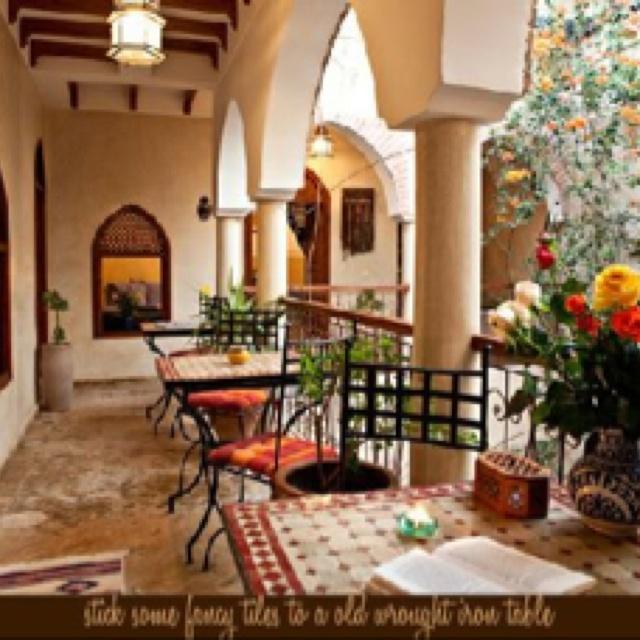 Lovely courtyard ideaMakeovers Ideas, Courtyards Ideas