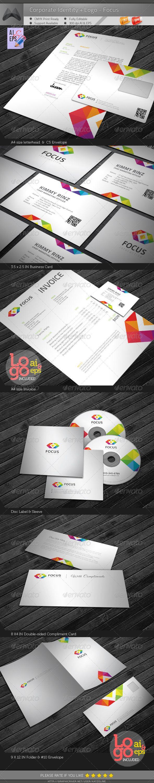 corporate identity package focus corporate identity package u2013 focus contains