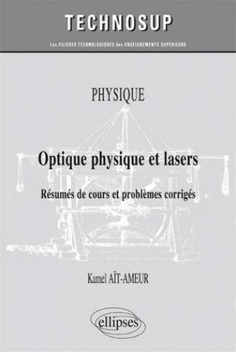 Optique physique et lasers/Kamel  Aït-Ameur, 2016 http://bu.univ-angers.fr/rechercher/description?notice=000818527