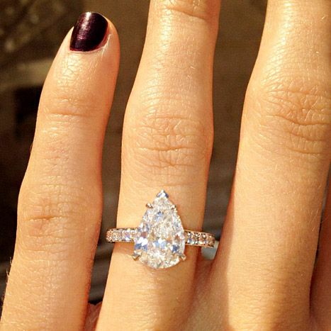 Lauren Conrad's ex-boyfriend Jason Wahler proposed to model Ashley Slack. Isn't Ashley's ring gorgeous?