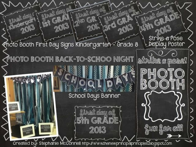 Back to School Photo Booth- LOVE IT!