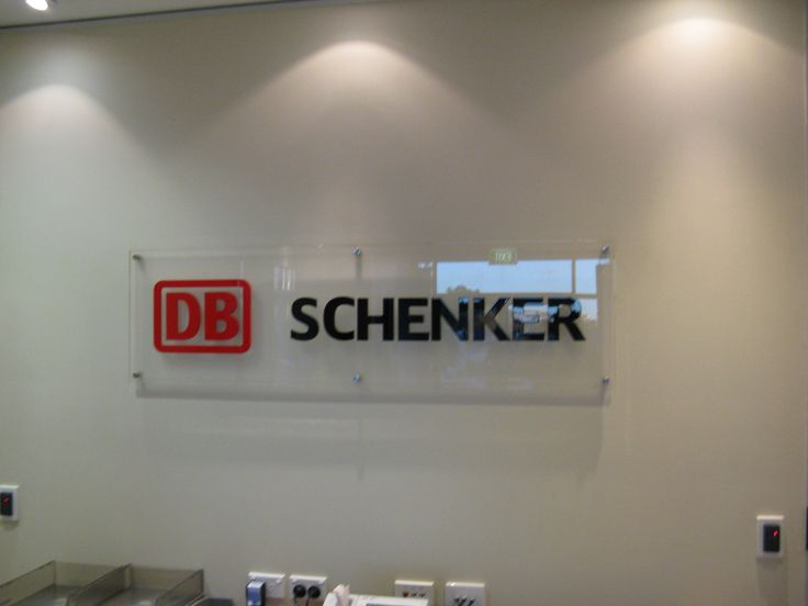DB Schneker #CSI #reception #signage