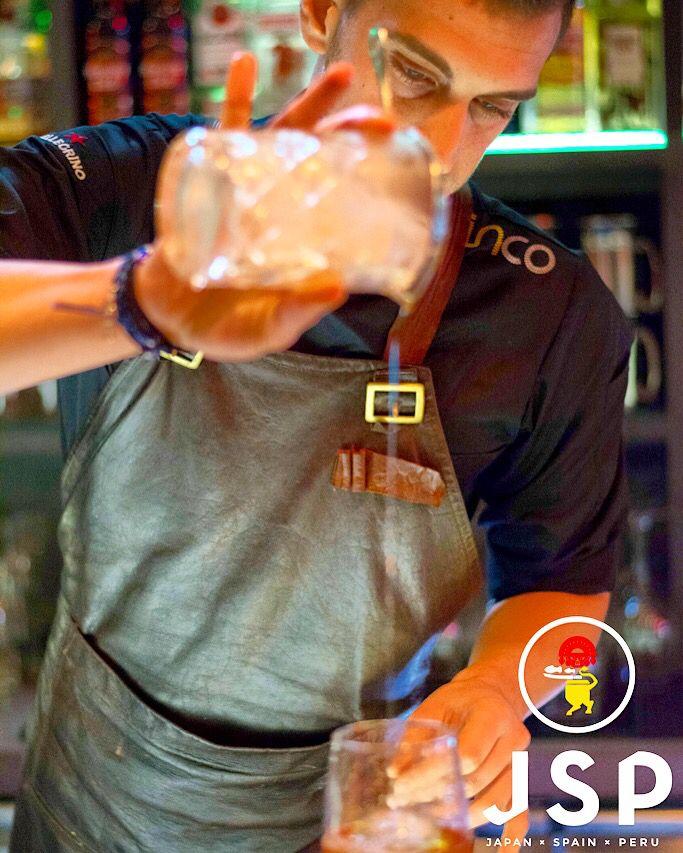 JSP Cocktail Menu @ Cinco***** Japanese ManHaTTan \m/  #cinco #jsp #japan #spain #peru #nikkei #restaurant #tapas #athens #kolonaki #skoufa #endlessdream #cinco_athens #pisco #sake #ceviche #tiradito #tigersmilk #cincoathens  http://www.cincoathens.com