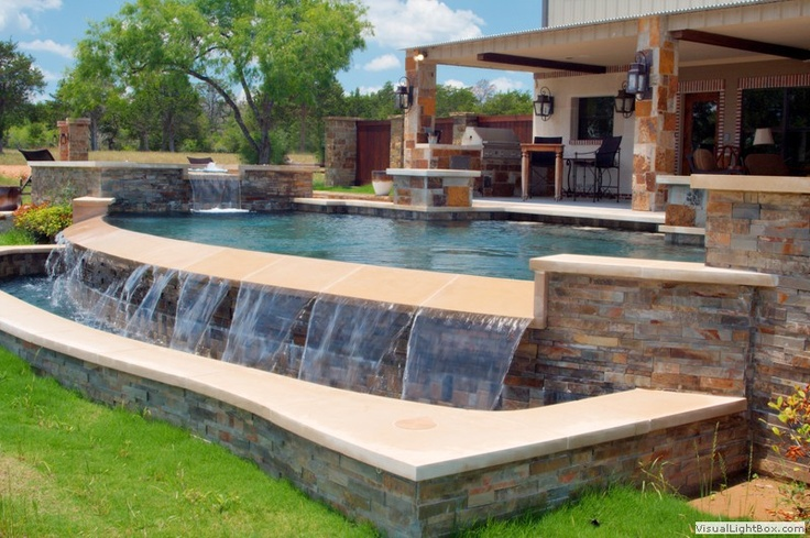 349 best swimming pools images on pinterest pools - Swimming pool construction san antonio ...