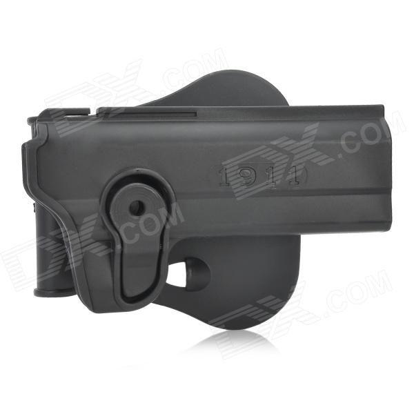 Tactical Military Gun Pistol Holster   Bullet Cartridge Holder for M1911 - Black Price: $21.20