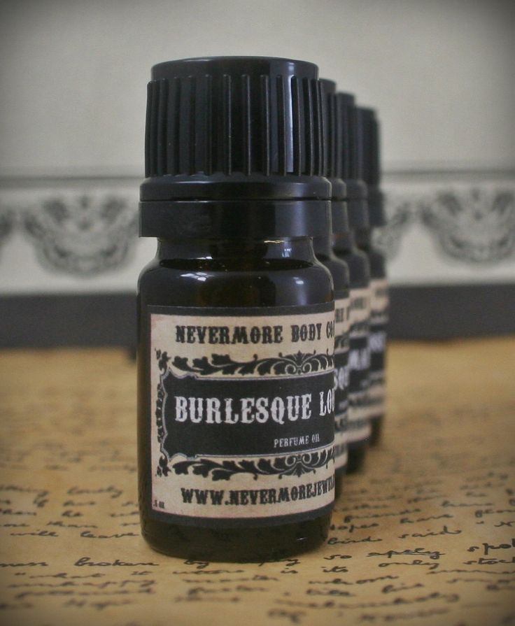 Burlesque Lounge Perfume Oil Fragrance by NevermoreBodyCompany, $10.00