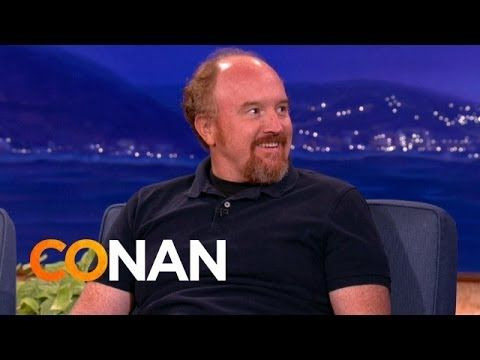 Louis C K on smart phones and sadness (on the Conan show)