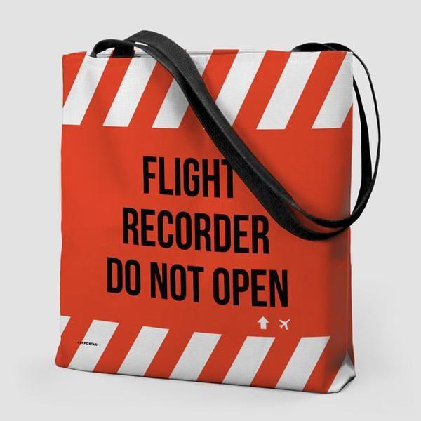 Flight Recorder - Tote Bag