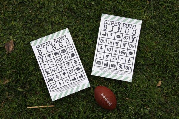 Super Bowl Bingo (Free Printable)