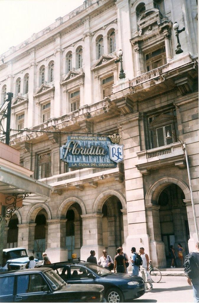 Havana, Cuba -  La Floridita, our favorite cafe!