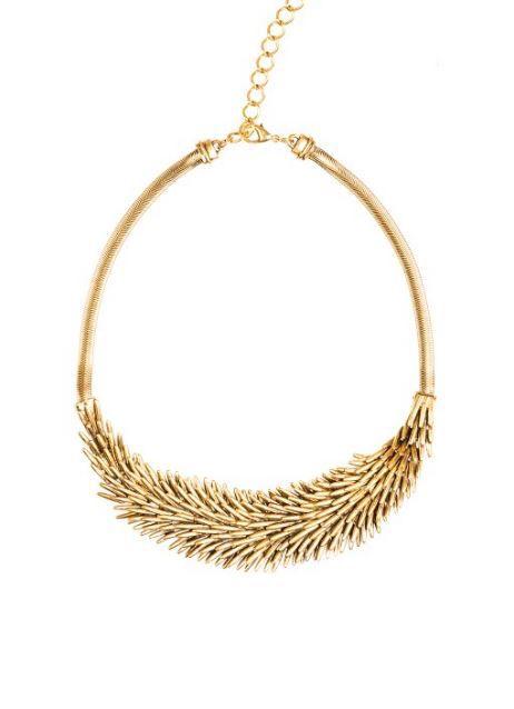 KİRPİ DESENLİ GOLD KOLYE Detaylar www.fashionturca.com 'da