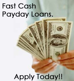 Online payday loans enable you to apply for a short-term loan from anywhere. The application process is completely online, and you'll get approved for a money advance instantly. There are fees and interest rates associated with payday loans, simply like all other kind of loan. Check the online payday loan web site for exact fees and interest rates. Apply for a cash advance on-line, and get the cash you wish to hide your emergency expenses.  http://paydayloan24-7.com/