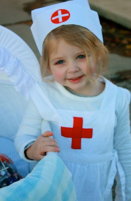 """""""nurse"""" Halloween costume just as sweet as can be *by Mrs. Gore's Diary"""