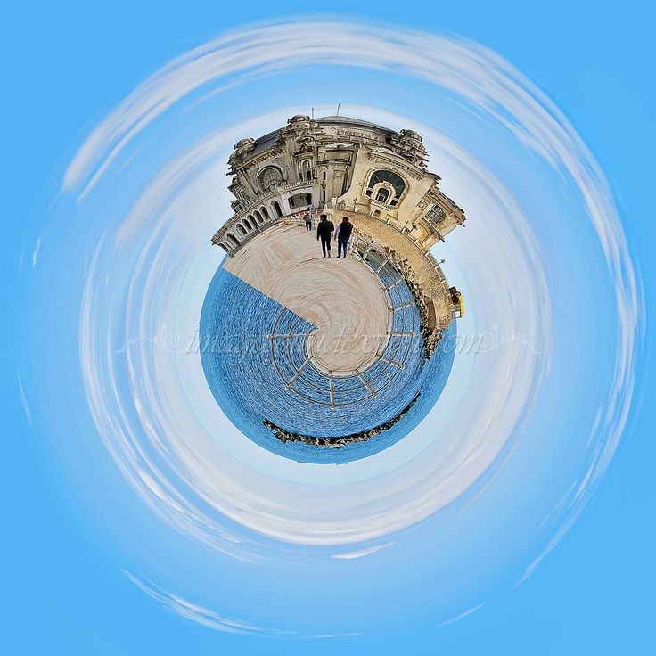 https://flic.kr/p/GcYMZs | cazino constanta 360 tiny planet | cazino constanta, tiny planet, 360 degree