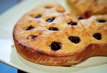 Gluténmnentes meggyes süti - Ételallergia Online
